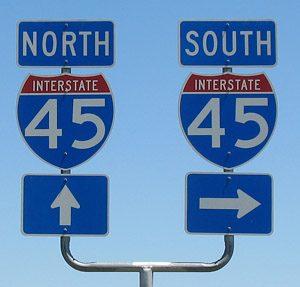 I-45 Houston to Galveston